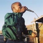 Yothu, street preacher, World of Faith Ministries, Khayelitsha, Cape Town, 2003