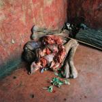 Bismillahi Butchery, camel legs and feet, Ngurunit, Kenya, 2006
