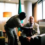 Guy Scott, Zambian vice-president, Johannesburg, South Africa, 2010