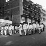 ZCC (Zion Christian Church) Sunday March, Banket Street, Hillbrow, 2005
