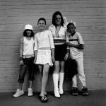 Diane, Nadine, Bernadean and Benjamin, New Doornfontein, 2005
