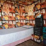 Shack interior, 'China Town', Langa, Cape Town, 2003