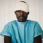 Michael, shot in the back of the head while playing soccer, Johannesburg General Hospital, 2003