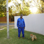 Cyril and Chiko, Bristol Road, Saxonwald, Johannesburg, South Africa, 2014