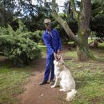 Melusi and Kimba, Prince of Wales Drive, Parkwood, Johannesburg, South Africa, 2014